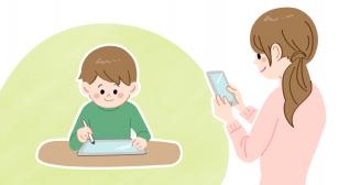 学習管理は週に1回! 小学生タブレットコース会員の「Z会保護者アプリ」活用術!