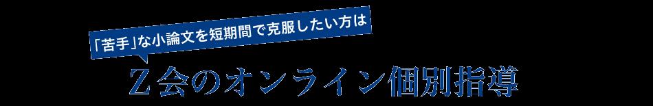 Z会のオンライン個別指導