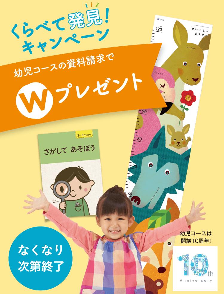 Z会幼児コース-くらべて発見!キャンペーン