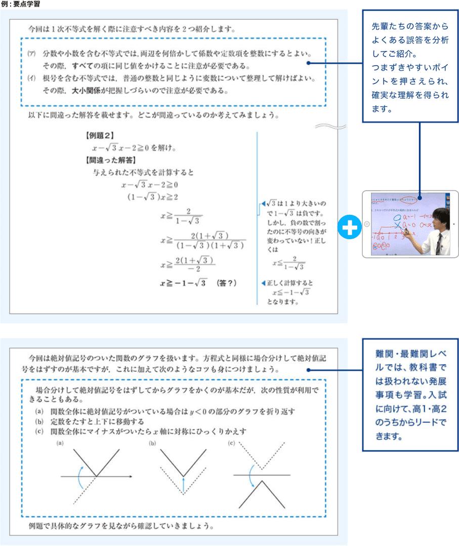 要点学習 数学