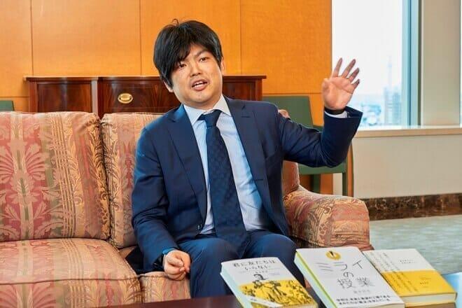 『ミライの授業』発刊の経緯を語る瀧本哲史さん
