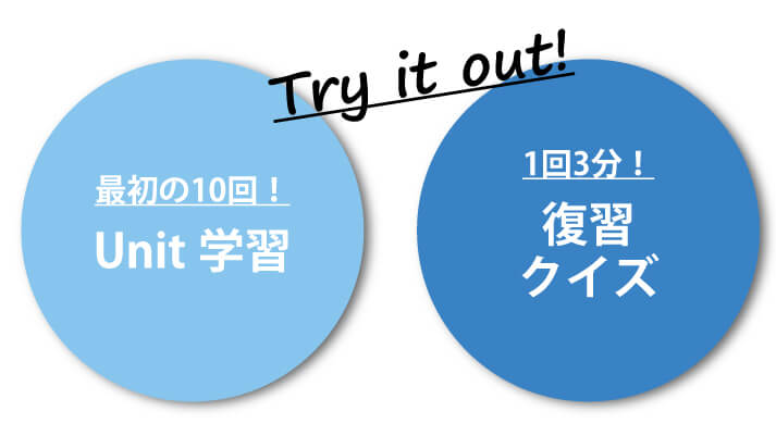 100UPトレーニングTry it out!案内