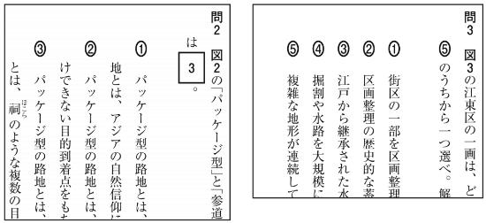 H29国語試行調査