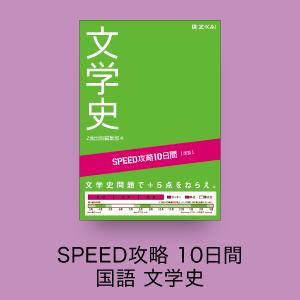 SPEED攻略 10日間 国語 文学史